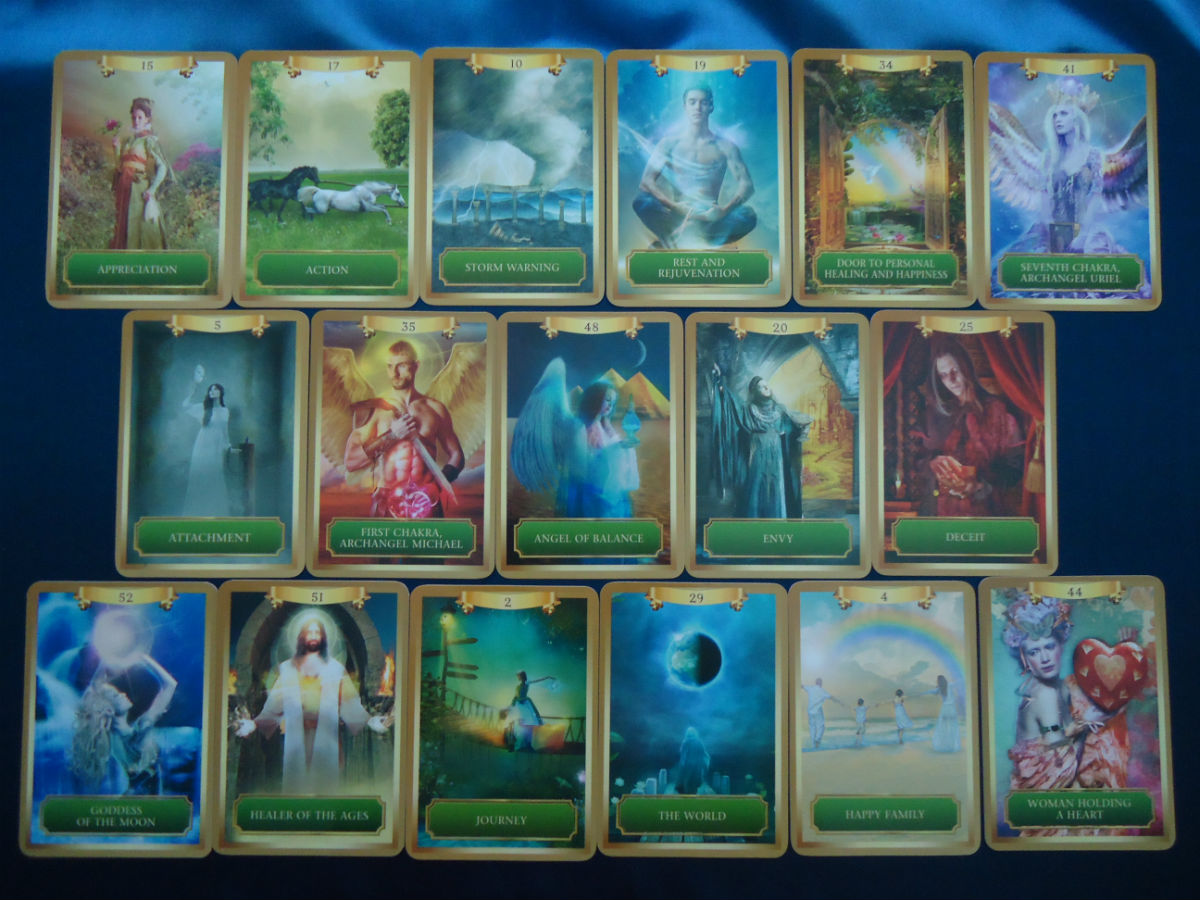 energy oracle cards by sandra anne taylor image 3