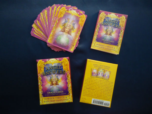 Angel Answers Oracle Cards by Doreen Virtue and Radleigh Valentine